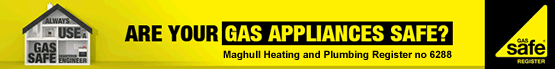 Maghull Heating Gas Safe Register 6288